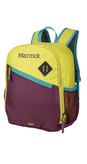 Marmot Kids Root Backpack Green Spice/Deep Purple